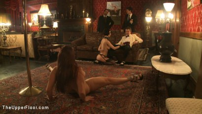 Photo number 7 from A Whip Dance for Master Acworth shot for The Upper Floor on Kink.com. Featuring Cherry Torn and Bella Rossi in hardcore BDSM & Fetish porn.