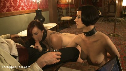 Photo number 9 from A Whip Dance for Master Acworth shot for The Upper Floor on Kink.com. Featuring Cherry Torn and Bella Rossi in hardcore BDSM & Fetish porn.