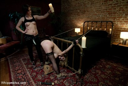 "Photo number 15 from ""No boys at this party"" shot for Whipped Ass on Kink.com. Featuring Bobbi Starr and Katie Kox in hardcore BDSM & Fetish porn."