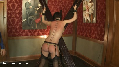 Photo number 14 from Service Session: Slut Pig shot for The Upper Floor on Kink.com. Featuring Cherry Torn in hardcore BDSM & Fetish porn.