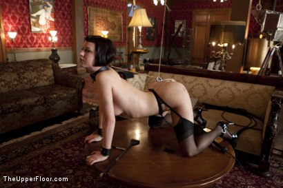 Photo number 11 from Service Session: Slut Pig shot for The Upper Floor on Kink.com. Featuring Cherry Torn in hardcore BDSM & Fetish porn.
