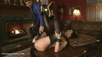 Photo number 4 from Service Session: Slut Pig shot for The Upper Floor on Kink.com. Featuring Cherry Torn in hardcore BDSM & Fetish porn.