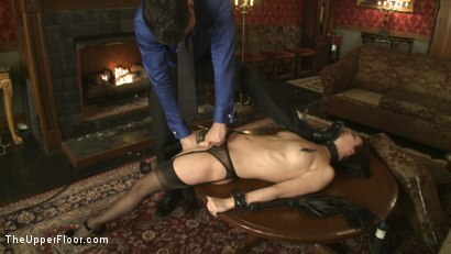 Photo number 7 from Service Session: Slut Pig shot for The Upper Floor on Kink.com. Featuring Cherry Torn in hardcore BDSM & Fetish porn.
