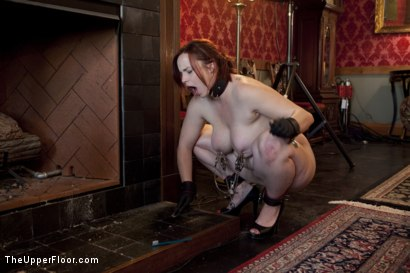 Photo number 2 from Service Session: Nipple Appreciation Day shot for The Upper Floor on Kink.com. Featuring Cherry Torn and Bella Rossi in hardcore BDSM & Fetish porn.