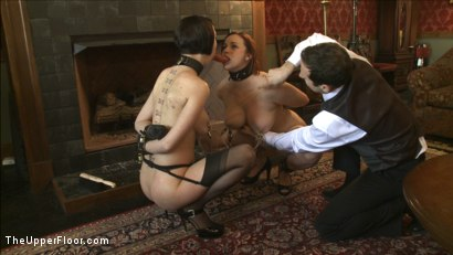 Photo number 7 from Service Session: Nipple Appreciation Day shot for The Upper Floor on Kink.com. Featuring Cherry Torn and Bella Rossi in hardcore BDSM & Fetish porn.