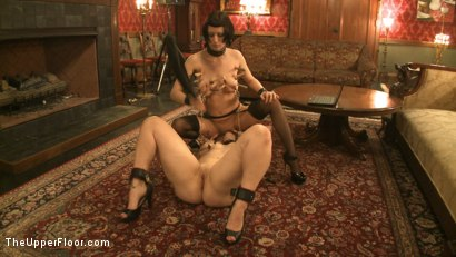 Photo number 13 from Service Session: Nipple Appreciation Day shot for The Upper Floor on Kink.com. Featuring Cherry Torn and Bella Rossi in hardcore BDSM & Fetish porn.