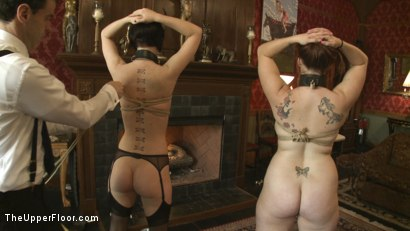 Photo number 2 from Service Session: Slaves in Bondage shot for The Upper Floor on Kink.com. Featuring Cherry Torn and Bella Rossi in hardcore BDSM & Fetish porn.