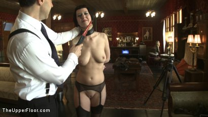 Photo number 3 from Service Session: Slaves in Bondage shot for The Upper Floor on Kink.com. Featuring Cherry Torn and Bella Rossi in hardcore BDSM & Fetish porn.