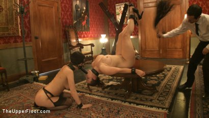 Photo number 11 from Service Session: Slaves in Bondage shot for The Upper Floor on Kink.com. Featuring Cherry Torn and Bella Rossi in hardcore BDSM & Fetish porn.