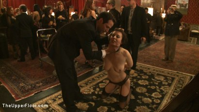 Photo number 13 from Art Unveiled shot for The Upper Floor on Kink.com. Featuring Cherry Torn and Bella Rossi in hardcore BDSM & Fetish porn.