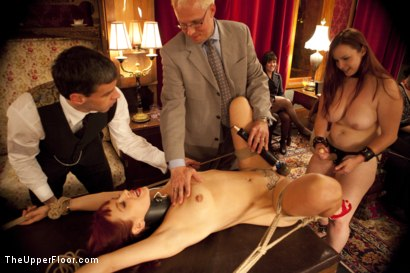 Photo number 14 from Art Unveiled shot for The Upper Floor on Kink.com. Featuring Cherry Torn and Bella Rossi in hardcore BDSM & Fetish porn.
