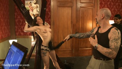 Photo number 8 from Art Unveiled shot for The Upper Floor on Kink.com. Featuring Cherry Torn and Bella Rossi in hardcore BDSM & Fetish porn.