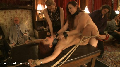 Photo number 10 from Art Unveiled shot for The Upper Floor on Kink.com. Featuring Cherry Torn and Bella Rossi in hardcore BDSM & Fetish porn.