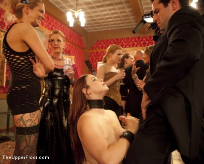 Photo number 5 from Art Unveiled shot for The Upper Floor on Kink.com. Featuring Cherry Torn and Bella Rossi in hardcore BDSM & Fetish porn.
