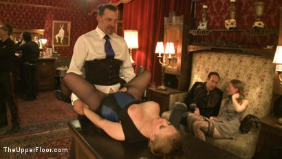 Photo number 4 from Art Unveiled shot for The Upper Floor on Kink.com. Featuring Cherry Torn and Bella Rossi in hardcore BDSM & Fetish porn.