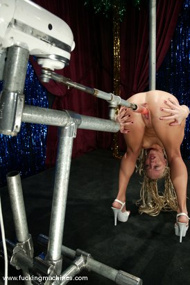 Photo number 8 from Kylie Wilde shot for Fucking Machines on Kink.com. Featuring Kylie Wilde in hardcore BDSM & Fetish porn.