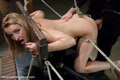 Photo number 10 from Helpless Slut shot for Sex And Submission on Kink.com. Featuring Jessie Cox and Steve Holmes in hardcore BDSM & Fetish porn.