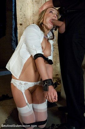 Photo number 5 from Helpless Slut shot for Sex And Submission on Kink.com. Featuring Jessie Cox and Steve Holmes in hardcore BDSM & Fetish porn.