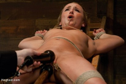 Photo number 10 from The End of An Era: Lochai's Last Shoot shot for Hogtied on Kink.com. Featuring Jessie Cox in hardcore BDSM & Fetish porn.