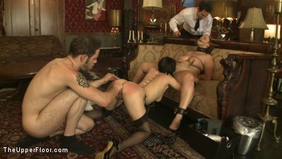 Photo number 13 from Service Session: Wolf in the House shot for The Upper Floor on Kink.com. Featuring Cherry Torn, Bella Rossi and Wolf Hudson in hardcore BDSM & Fetish porn.