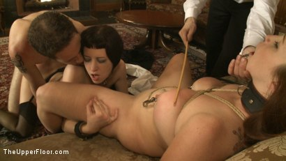 Photo number 14 from Service Session: Wolf in the House shot for The Upper Floor on Kink.com. Featuring Cherry Torn, Bella Rossi and Wolf Hudson in hardcore BDSM & Fetish porn.