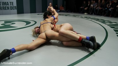 Photo number 5 from ROUND ONE<BR> The Ninja's (1-0) vs The Goddesses (0-0) shot for Ultimate Surrender on Kink.com. Featuring Vendetta, Tara Lynn Foxx, Isis Love, Tia Ling and Rain DeGrey in hardcore BDSM & Fetish porn.