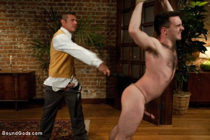 Photo number 6 from The Reynolds shot for Bound Gods on Kink.com. Featuring Nick Moretti and Colton Steele in hardcore BDSM & Fetish porn.