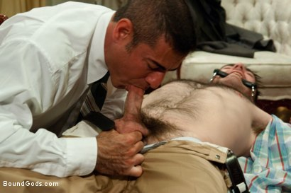 Photo number 4 from The Reynolds shot for Bound Gods on Kink.com. Featuring Nick Moretti and Colton Steele in hardcore BDSM & Fetish porn.