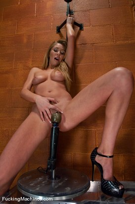 Photo number 2 from Brynn Tyler <br> Pussy, Anal, Double Penetration shot for Fucking Machines on Kink.com. Featuring Brynn Tyler in hardcore BDSM & Fetish porn.