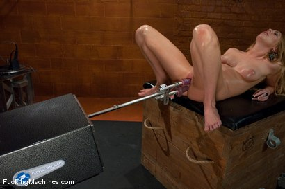 Photo number 12 from Brynn Tyler <br> Pussy, Anal, Double Penetration shot for Fucking Machines on Kink.com. Featuring Brynn Tyler in hardcore BDSM & Fetish porn.