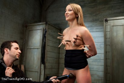 Photo number 4 from The Training of Jessie Cox, Day One shot for The Training Of O on Kink.com. Featuring Jessie Cox in hardcore BDSM & Fetish porn.