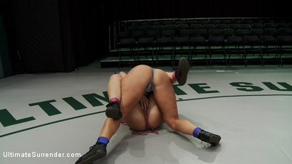 Photo number 4 from SUMMER VENGEANCE ROUND 1 ACTION<br> Ranked<br> 11TH VS 12TH shot for Ultimate Surrender on Kink.com. Featuring Tara Lynn Foxx and Mellanie Monroe in hardcore BDSM & Fetish porn.
