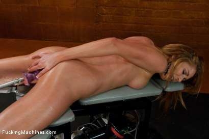 Photo number 15 from Polar opposites - double updates today shot for Fucking Machines on Kink.com. Featuring Brynn Tyler in hardcore BDSM & Fetish porn.