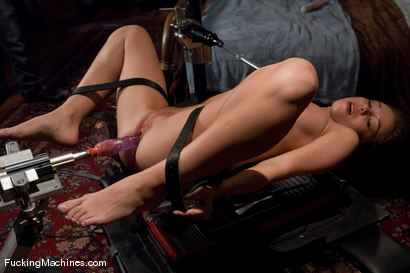 Photo number 8 from The Mega-cummer shot for Fucking Machines on Kink.com. Featuring Capri Anderson in hardcore BDSM & Fetish porn.