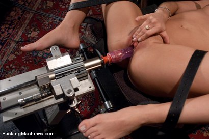 Photo number 7 from The Mega-cummer shot for Fucking Machines on Kink.com. Featuring Capri Anderson in hardcore BDSM & Fetish porn.