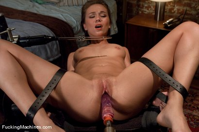Photo number 4 from The Mega-cummer shot for Fucking Machines on Kink.com. Featuring Capri Anderson in hardcore BDSM & Fetish porn.