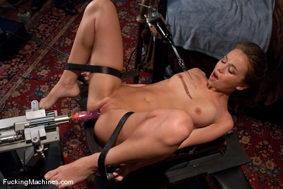 Photo number 6 from The Mega-cummer shot for Fucking Machines on Kink.com. Featuring Capri Anderson in hardcore BDSM & Fetish porn.