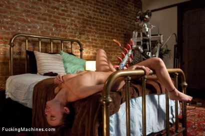 Photo number 4 from A FUCKINGMACHINES CLASSIC SHOOT <BR> Charlie Sheen's Girl with Our Robot shot for Fucking Machines on Kink.com. Featuring Capri Anderson in hardcore BDSM & Fetish porn.