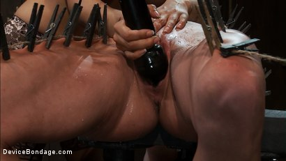 Photo number 11 from Part 3 of 4 of the <br>April Live show. shot for Device Bondage on Kink.com. Featuring Felony, Isis Love and Dee Williams in hardcore BDSM & Fetish porn.