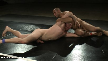 Photo number 8 from Leo Forte vs Luke Riley shot for Naked Kombat on Kink.com. Featuring Luke Riley and Leo Forte in hardcore BDSM & Fetish porn.