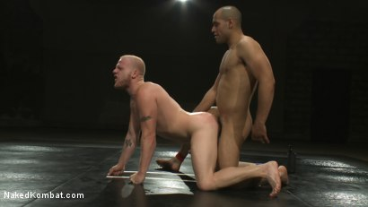 Photo number 13 from Leo Forte vs Luke Riley shot for Naked Kombat on Kink.com. Featuring Luke Riley and Leo Forte in hardcore BDSM & Fetish porn.