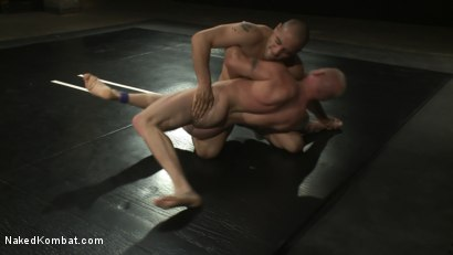 Photo number 5 from Leo Forte vs Luke Riley shot for Naked Kombat on Kink.com. Featuring Luke Riley and Leo Forte in hardcore BDSM & Fetish porn.