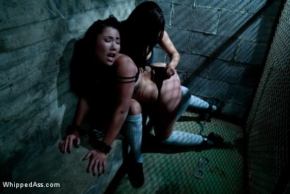 Photo number 4 from Prisoner's Bitch shot for Whipped Ass on Kink.com. Featuring Isis Love and London Keyes in hardcore BDSM & Fetish porn.