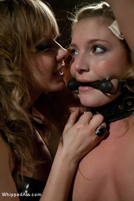 Photo number 5 from Marina Babe shot for Whipped Ass on Kink.com. Featuring Aurora Snow and Maitresse Madeline Marlowe in hardcore BDSM & Fetish porn.