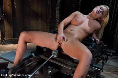Photo number 14 from Blond Ambition shot for Fucking Machines on Kink.com. Featuring Jamey Janes in hardcore BDSM & Fetish porn.