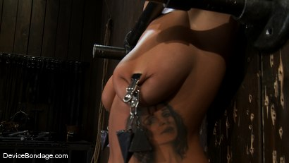 Photo number 13 from In over her head shot for Device Bondage on Kink.com. Featuring Halie James in hardcore BDSM & Fetish porn.