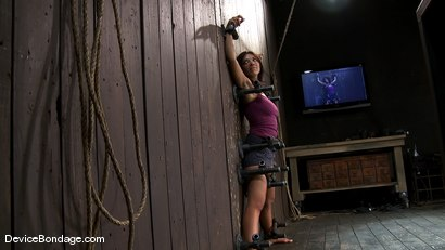 Photo number 3 from In over her head shot for Device Bondage on Kink.com. Featuring Halie James in hardcore BDSM & Fetish porn.