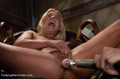 Photo number 13 from Upstairs Sybian, Downstairs Snake <br> Double Updates shot for Fucking Machines on Kink.com. Featuring Jamey Janes in hardcore BDSM & Fetish porn.