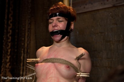 Photo number 7 from The Training of Juliette, Day Three shot for The Training Of O on Kink.com. Featuring Juliette March and Aiden Starr in hardcore BDSM & Fetish porn.