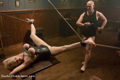 Photo number 12 from The Proposal shot for Sex And Submission on Kink.com. Featuring Mark Davis and Katie Kox in hardcore BDSM & Fetish porn.